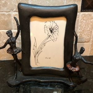 Iron Ballerina Picture Frame by Frame Traditions